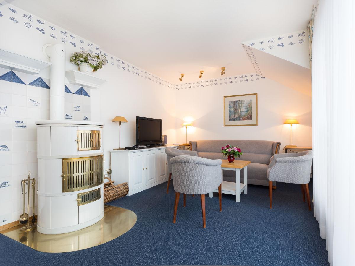 Ferienwohnung exklusive maisonette wohnung nordseeinsel juist firma juist domizile frau - Wohnzimmer mit kamin ...