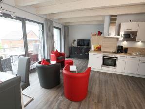 Ferienwohnung Admiralsuite Elbstrand Resort Deck 5