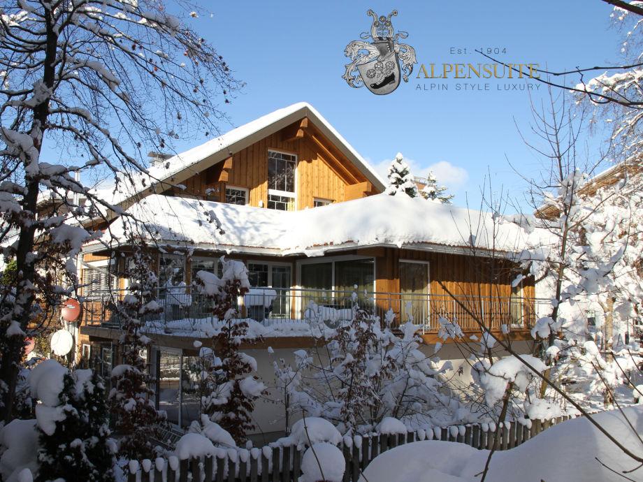 Südseite der Alpensuite Winter