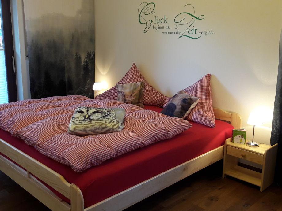 Willkommen im neuen Schlafzimmer...alles Natur...