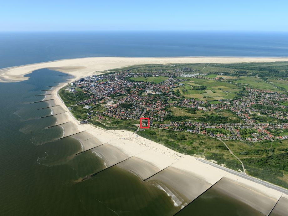 Ihr Ferienhaus, nur 150 Meter vom Strand entfernt!