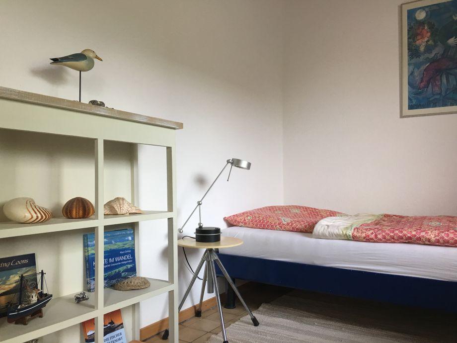 Schlafzimmer Wandle ferienwohnung schleswig holstein ostsee frau gesa otti
