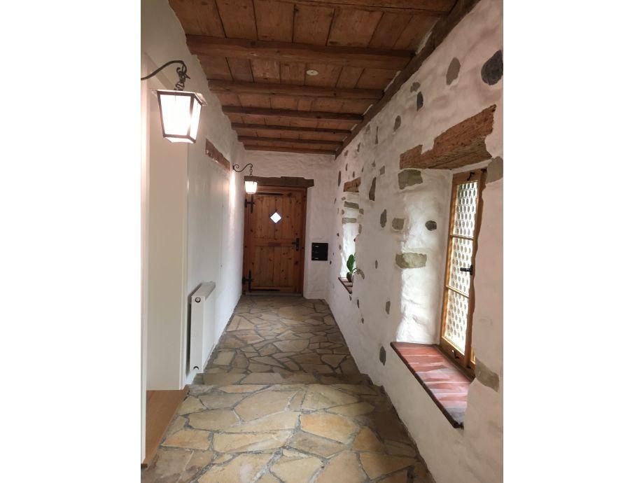 Hauseingang Suiten