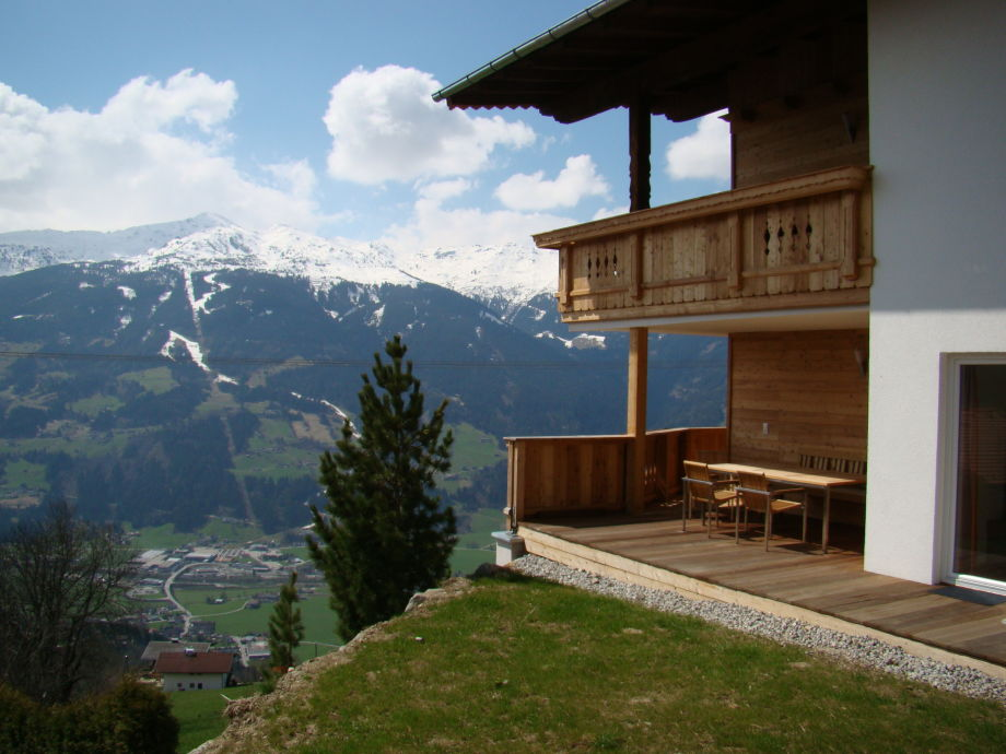 Blick Hochzillertal, Skigebiet
