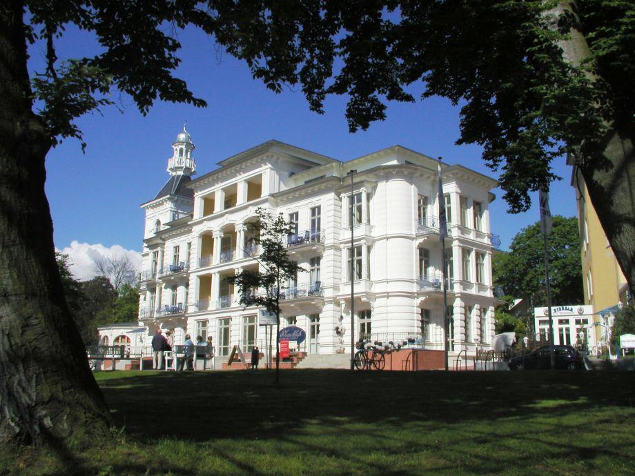 Blick auf das Seeschloß Heringsdorf