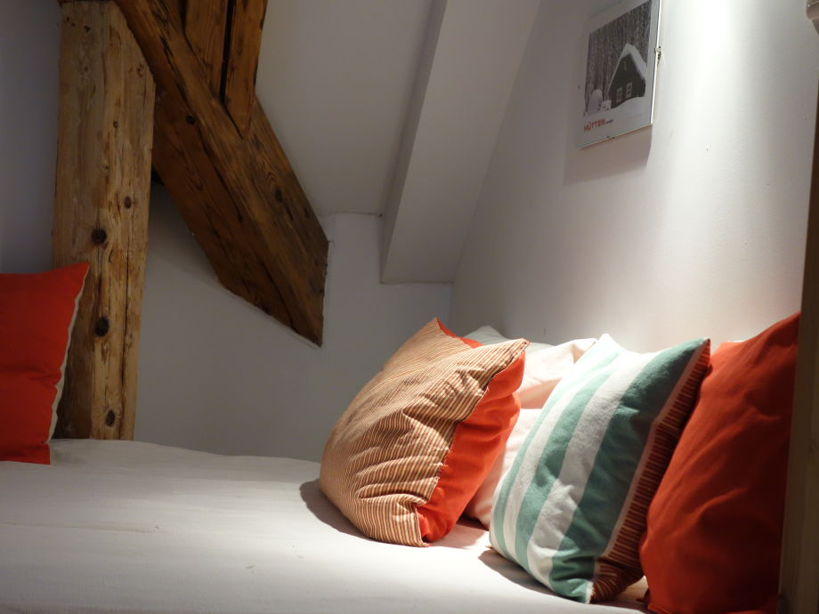 gemütliche Schlafnische für 2 Personen