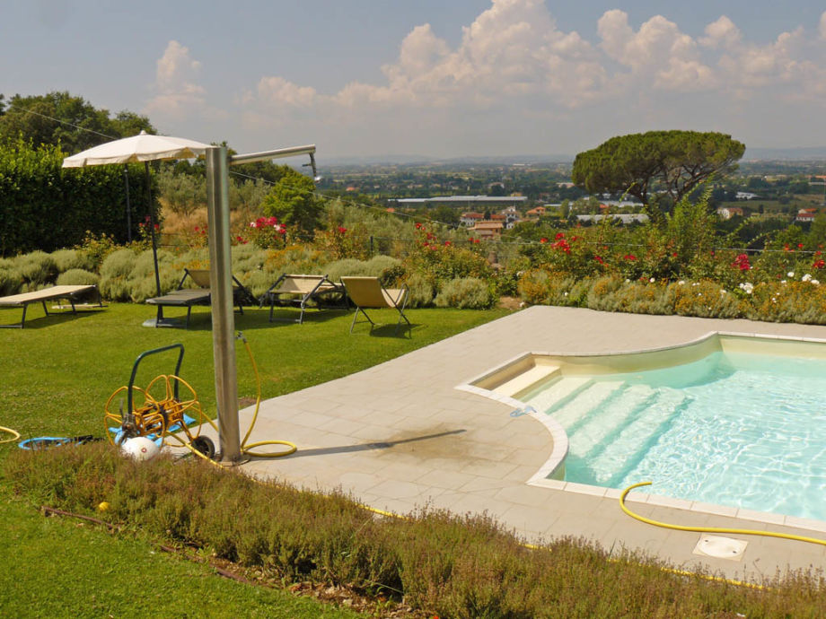 Außenaufnahme Villa Caluvvia