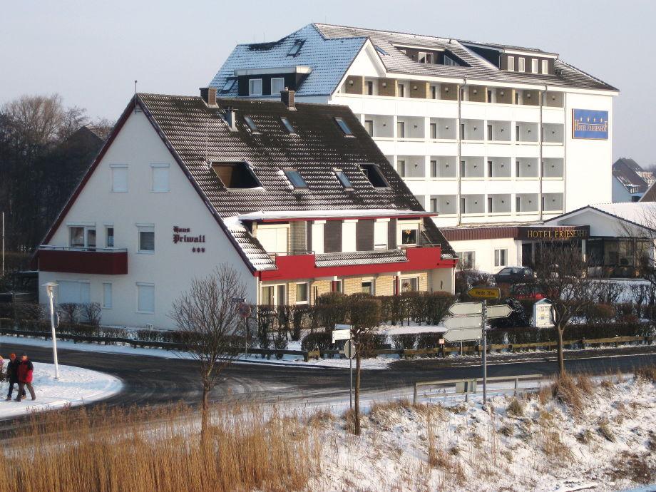 Ferienhaus im Winter. 2012 - 2014 komplett renoviert