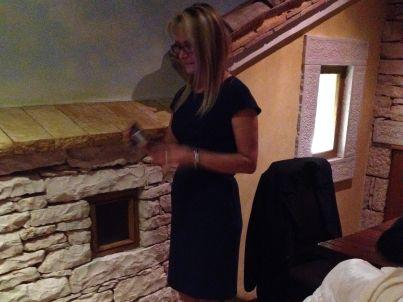 Your host Vesna Trevizan