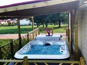 Ferienwohnung Mobilheim Relax Whirpool