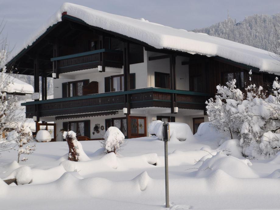 Winteransicht Haus Resi