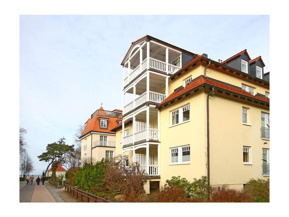 Außenaufnahme Haus Sonnenburg WE 6 mit WLAN