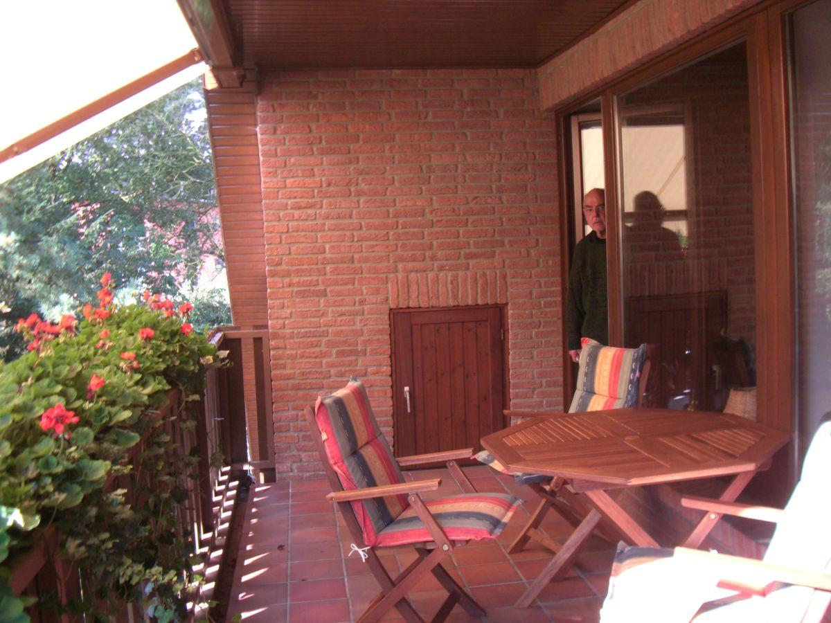 Ferienwohnung landhaus dat falkenhuus nordheide frau for Ameisen auf dem balkon
