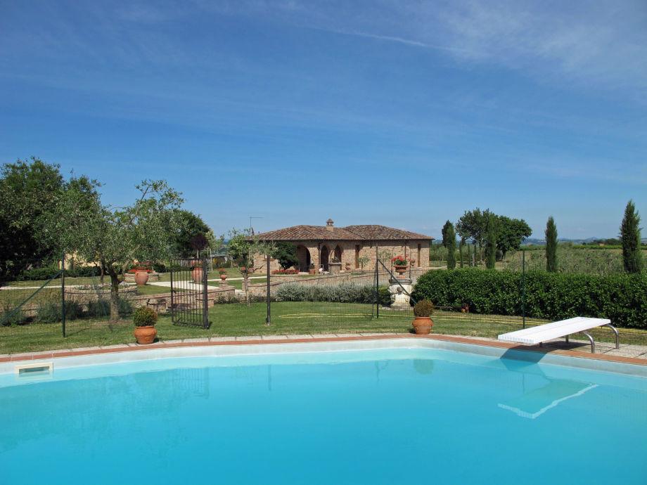 Ferienhaus Casa Nobile mit Poolbereich