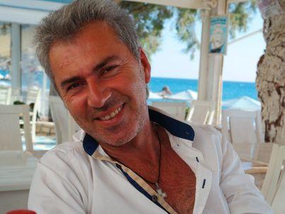 Your host Nikos Tsafantakis