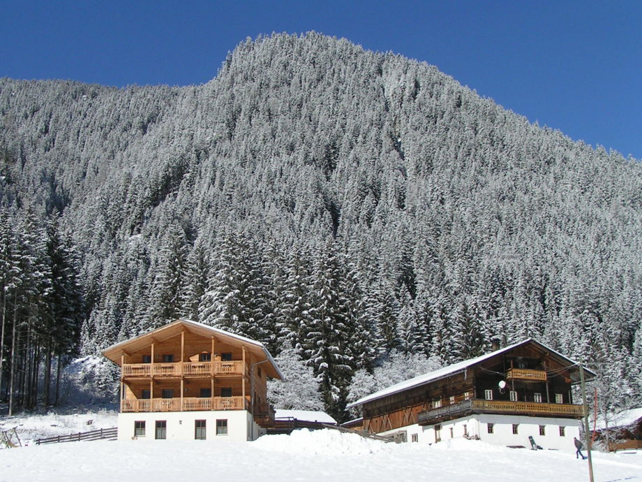 Steineggerhof im Winter