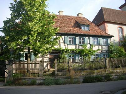 Altes Pfarrhaus in Franken