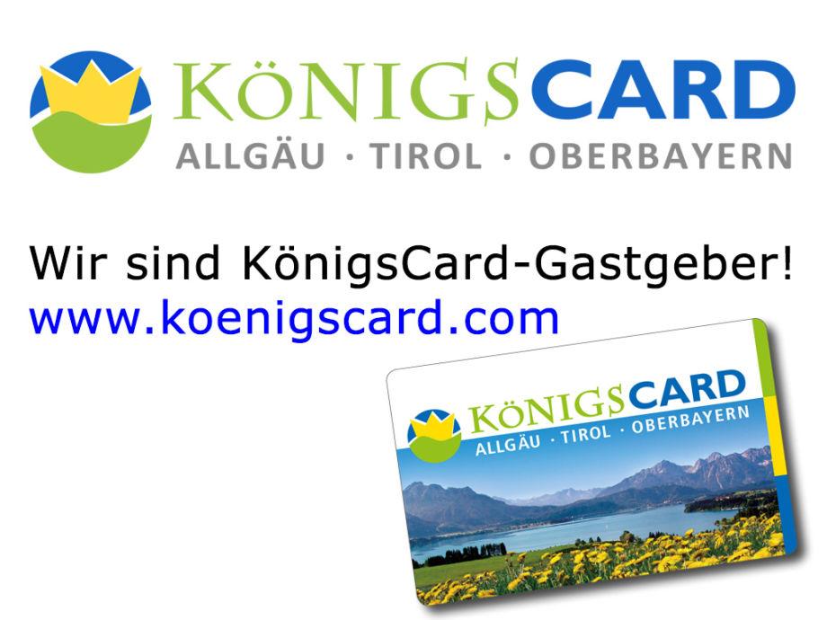 Wir sind KönigsCard-Gastgeber!