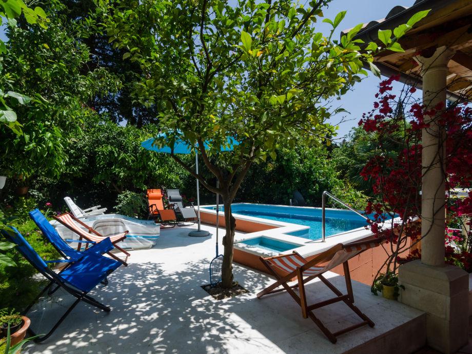 Der schöne Pool von Villa Gemma