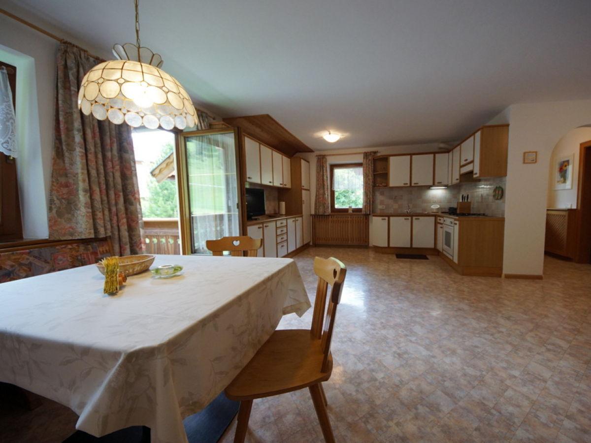 Ferienwohnung marlene st martin in thurn familie moling - Wohnzimmer mit kuche ...