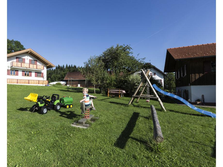 Der große Garten Ihrer Ferienwohnung
