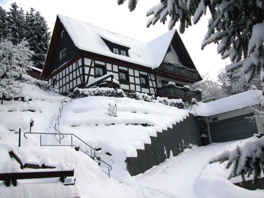 Ferienhaus Koester im Winter