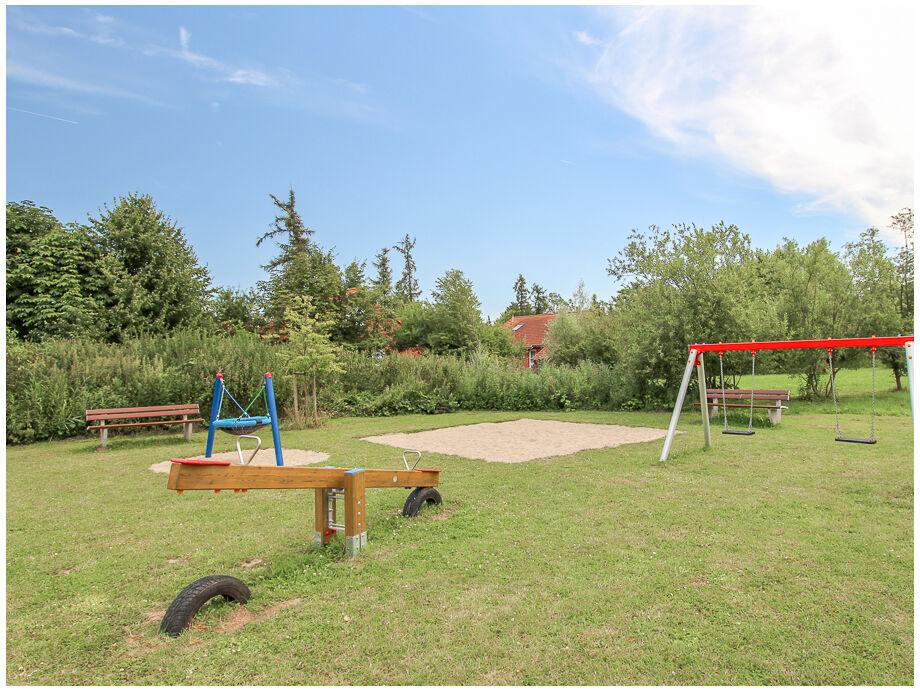 Spielplatz in der Ferienanlage Urlauberdorf