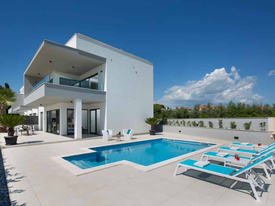 Außenaufnahme Apartment Fasana Pool