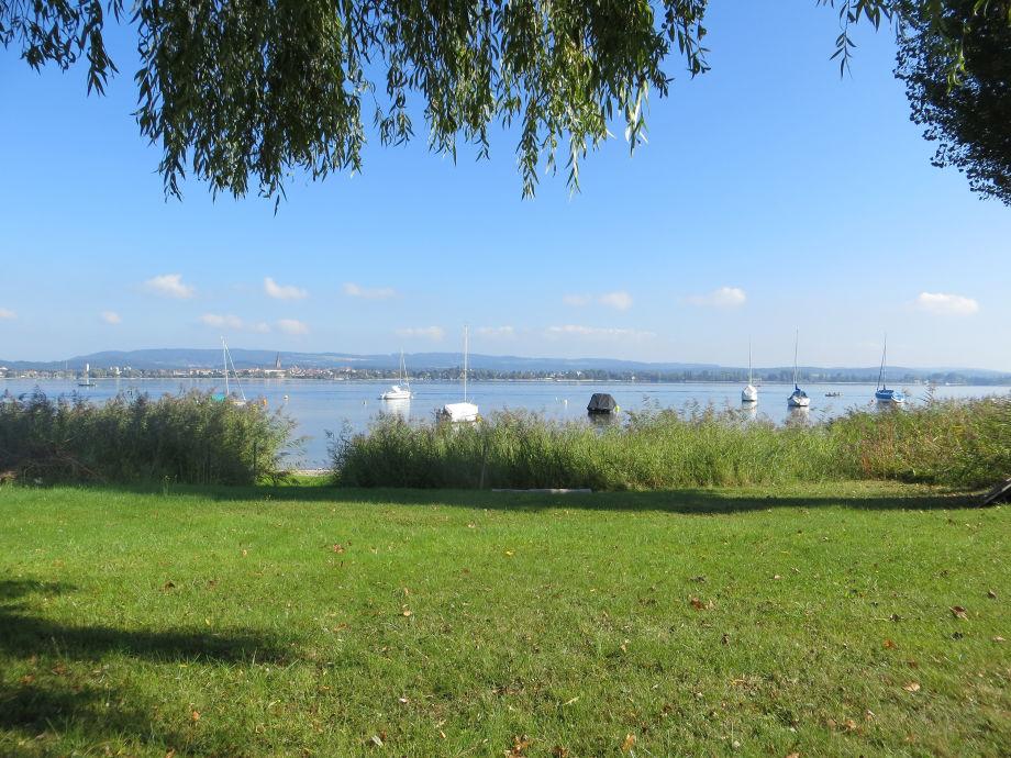Privater Garten und direkter Seezugang