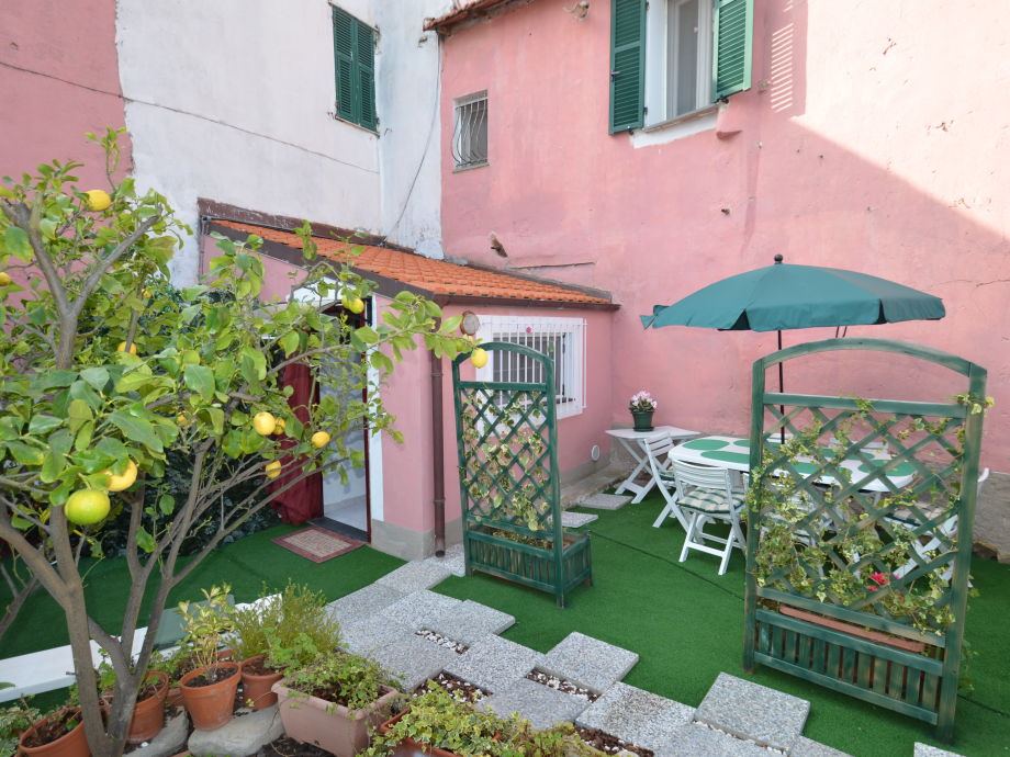 Innenhof vor der Casa Florenzina