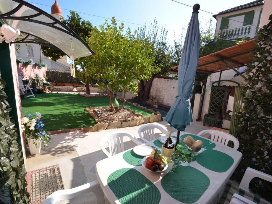 Ihr Garten vor der Casa Florenzina
