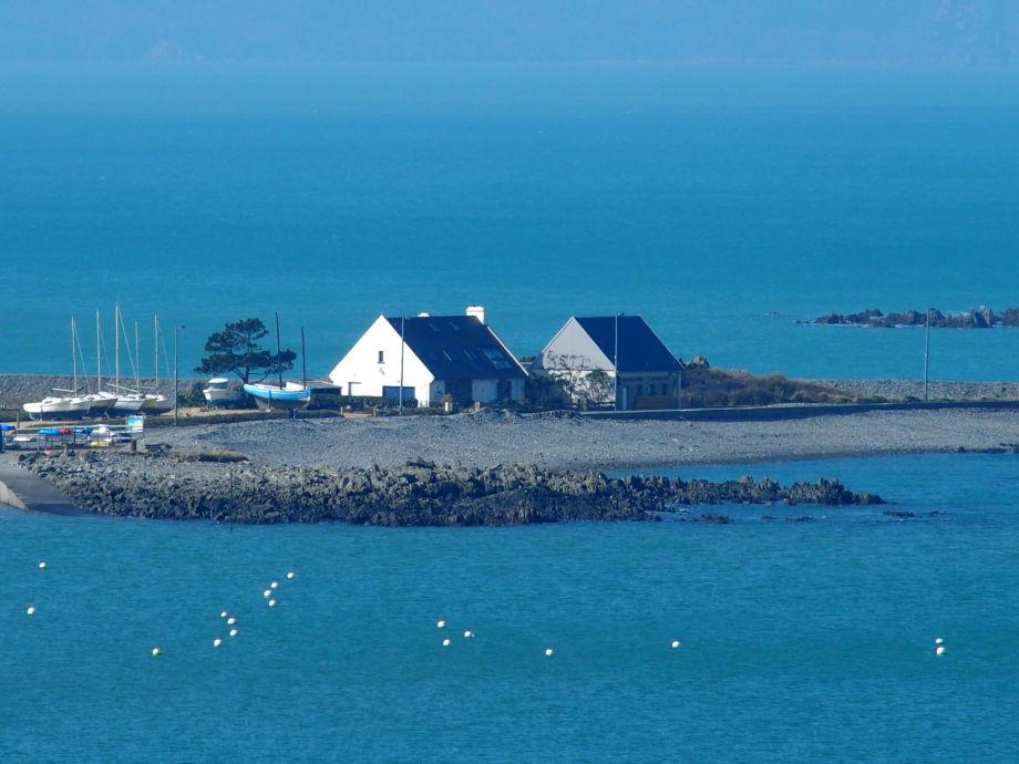 Außenaufnahme Gite de la presqu'île