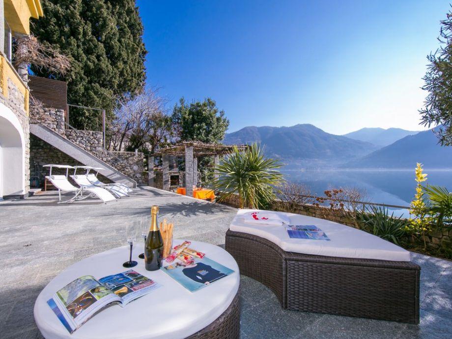 Außenaufnahme Villa Lugano Lakefront - 1787