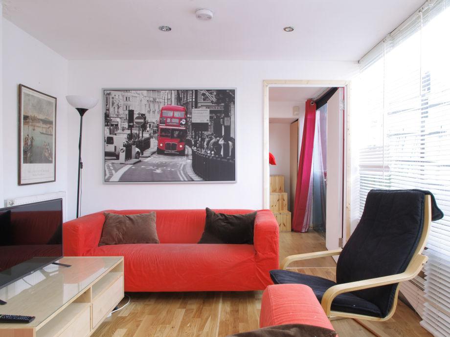 Wohnzimmer mit gemütlichen Sitzmöglichkeiten