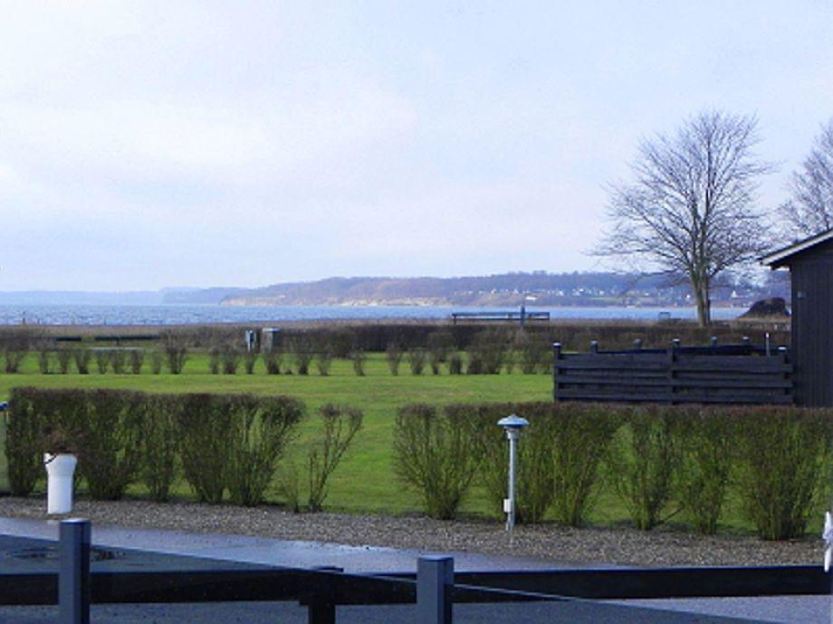Meerblick vom Grundstück von Møllers Spahus