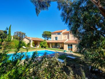 Villa mit Meerblick an der Côte d'Azur
