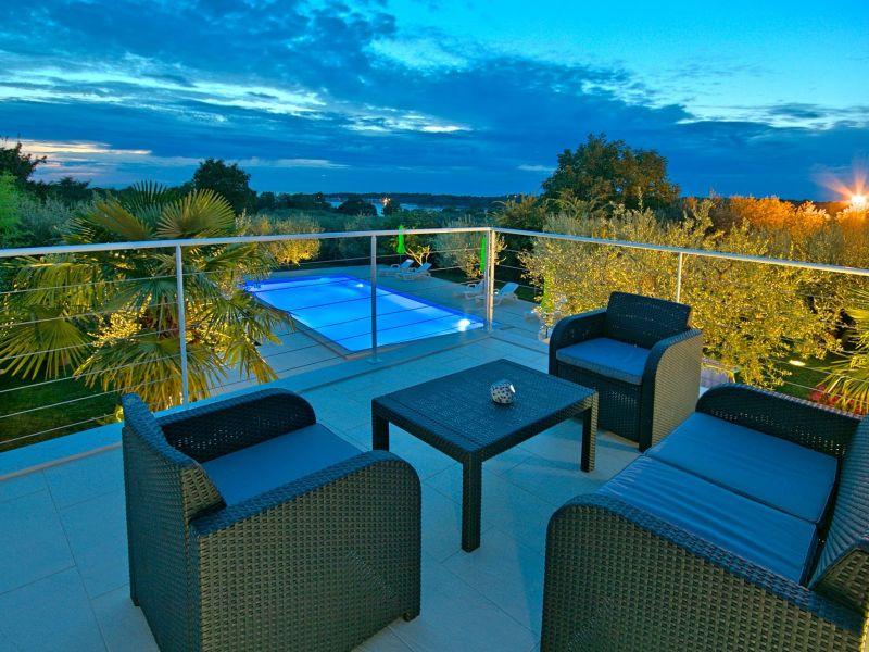 Ferienwohnung Materada mit Pool