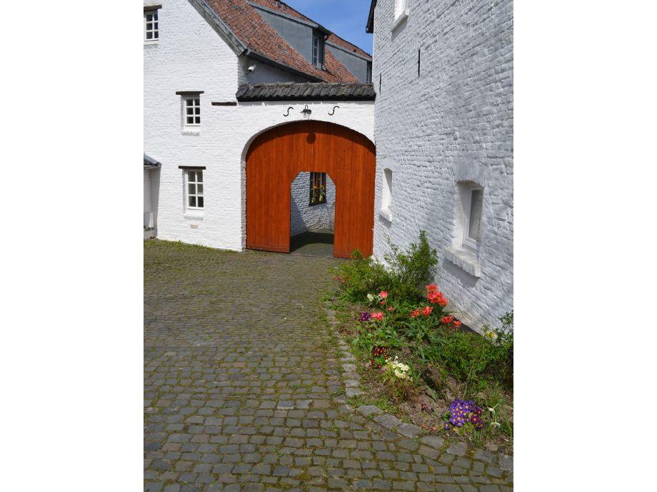 Eingangsbereich Gut Obermühle