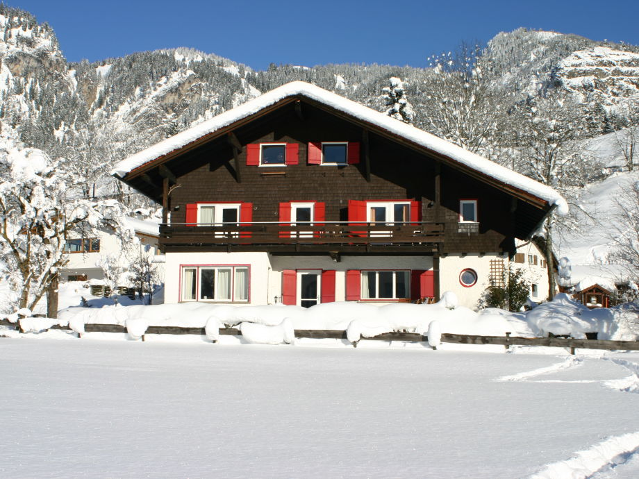 Front view in winter