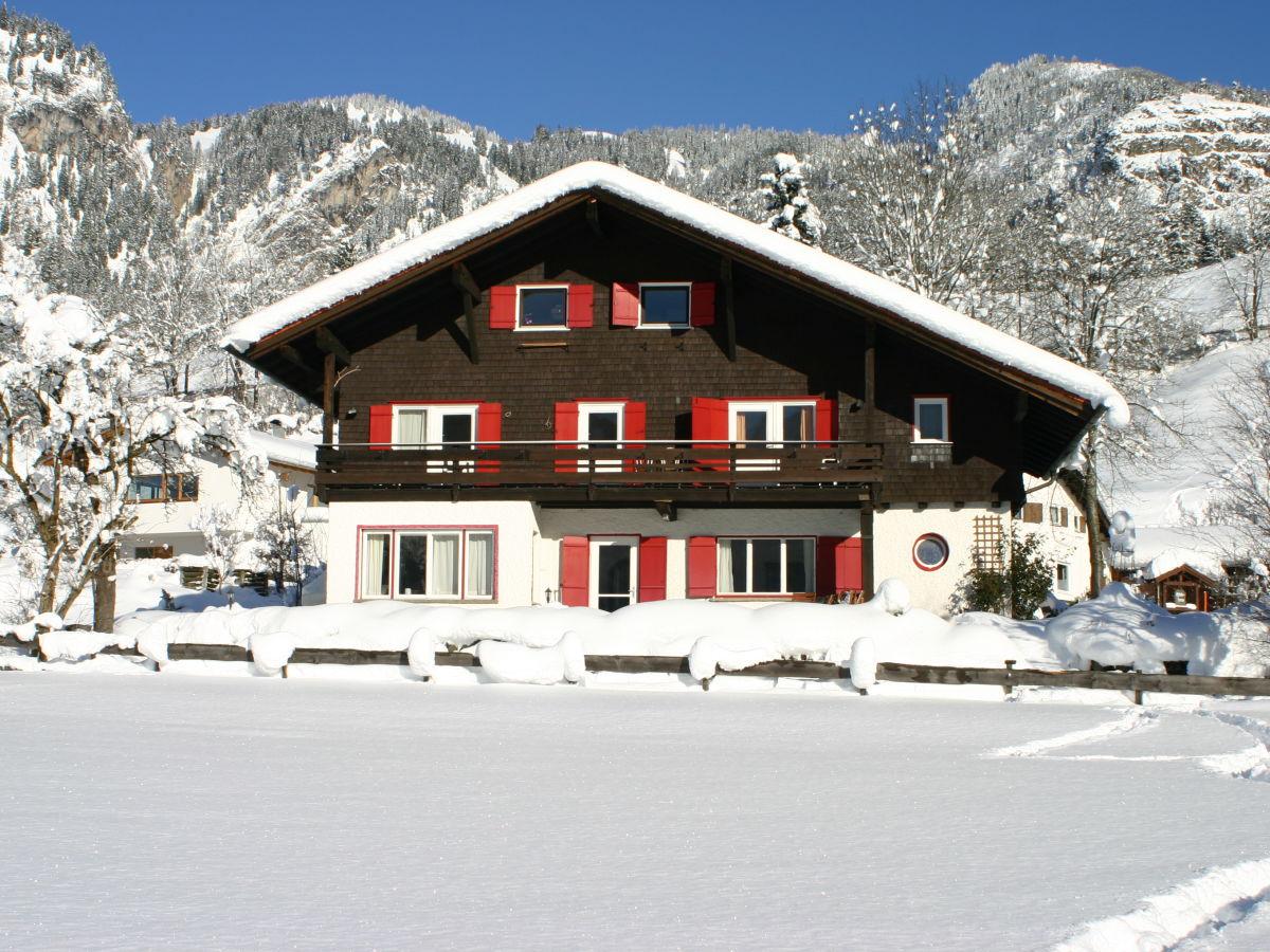 Ferienwohnung Haus in der Sonne Bad Hindelang Firma