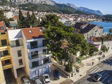 Ferienwohnung Apartment Makarska-Touristik Nr. 3 für 6 Personen