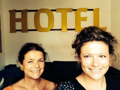 Ihr Gastgeber Ingrid und Sarah Jablonka