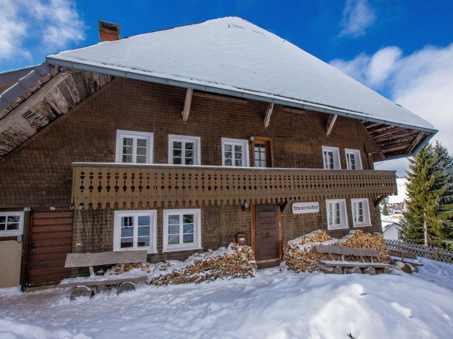 Ferienhaus Scheuermatthof im Winter