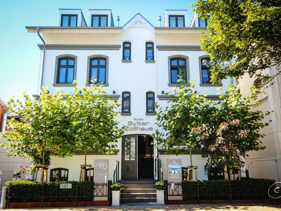 Außenaufnahme - Suite 3 im Hotel Sylter Zollhaus
