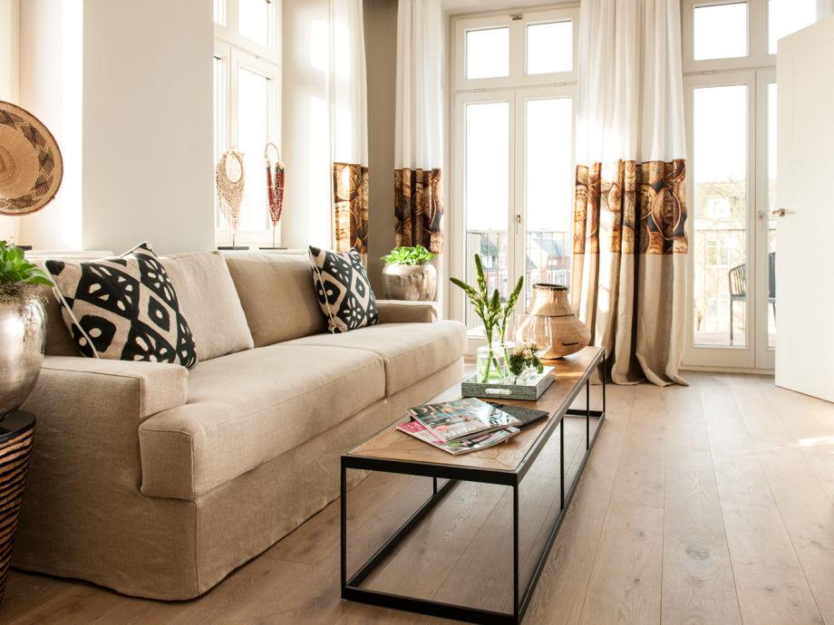 Ausstattung - Suite 5 im Hotel Sylter Zollhaus