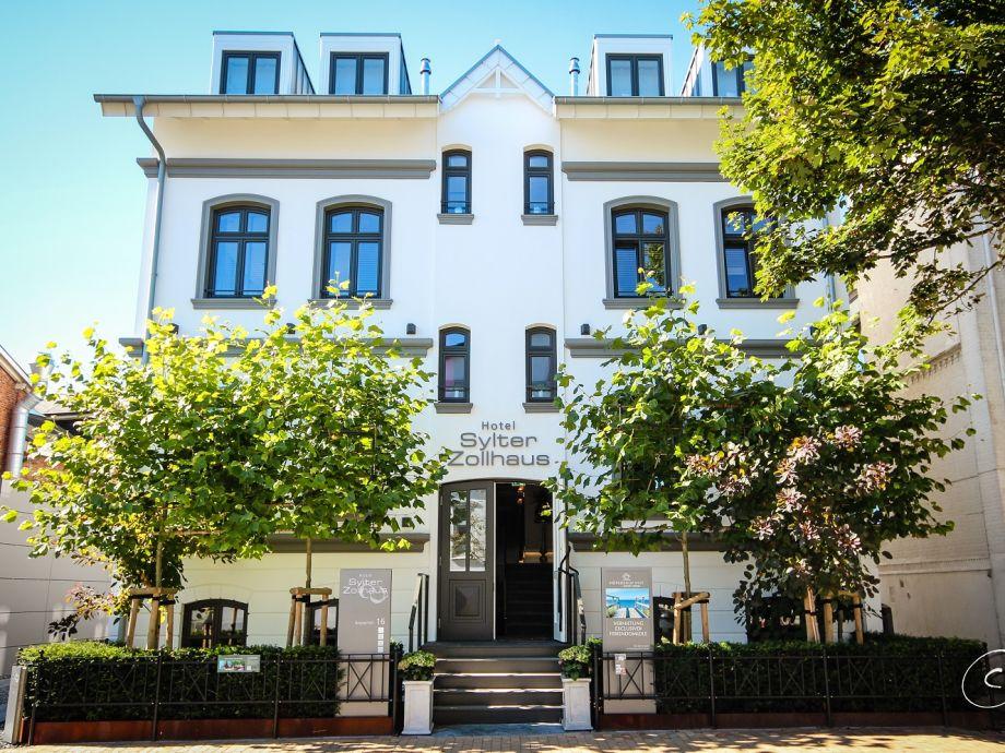 Außenaufnahme - Suite 5 im Hotel Sylter Zollhaus
