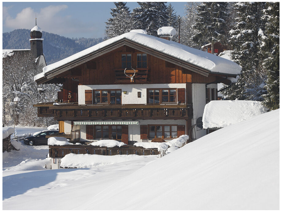 Das Ferienhaus Bergheimat im Winter