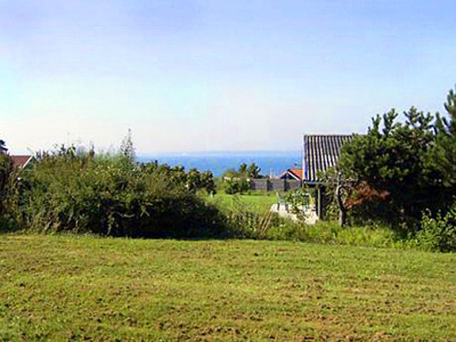 Meerblick auf dem Grundstück vom Spiræahus