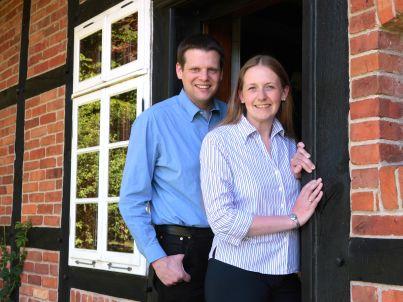Ihr Gastgeber Sarah und Volker Schulz