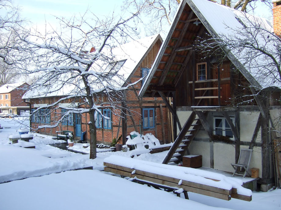 Winterstimmung auf dem Hof Heidekate
